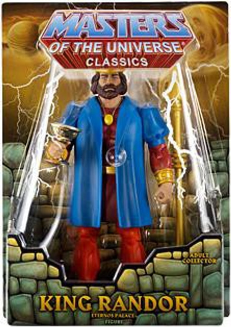 Masters of the Universe Classics Club Eternia King Randor Exclusive Action Figure [Filmation Look]