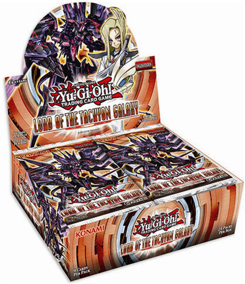 YuGiOh Lord of the Tachyon Galaxy Booster Box [24 Packs] [Sealed]