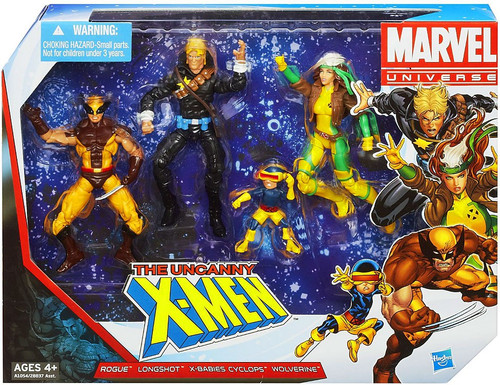 Marvel Universe Super Hero Team Packs The Uncanny X-Men Action Figure Set