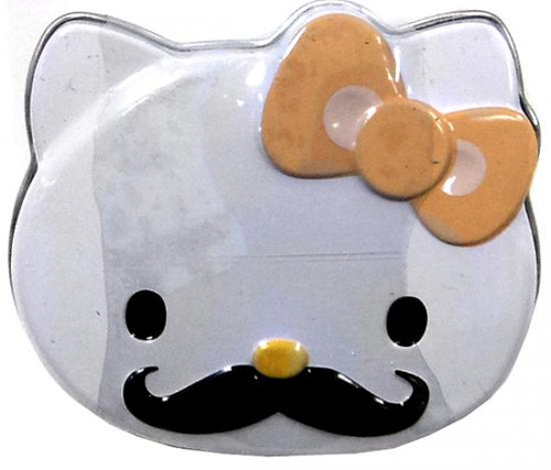 Hello Kitty Sweet Staches Candy Tin [Yellow Bow]