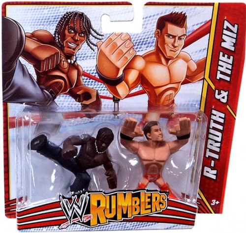 WWE Wrestling Rumblers Series 3 R-Truth & The Miz Mini Figure 2-Pack