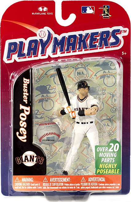 McFarlane Toys MLB San Francisco Giants Playmakers Series 4 Buster Posey Action Figure