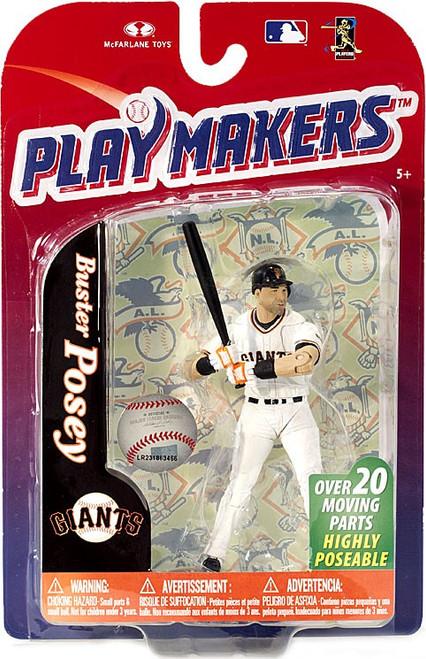 McFarlane Toys MLB San Francisco Giants Playmakers Series 4 Buster Posey Action Figure