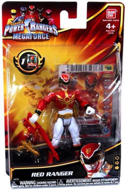Power Rangers Megaforce Red Ranger Action Figure