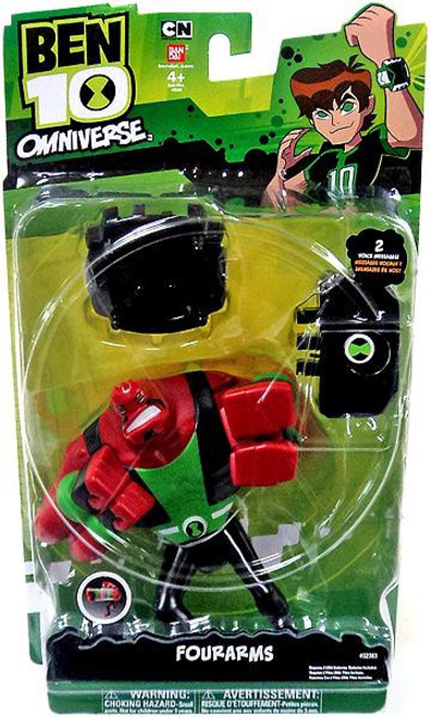 Ben 10 Omniverse 6-Inch Four Arms Action Figure