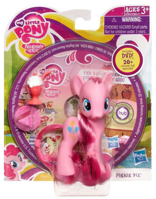 My Little Pony Friendship is Magic DVD Packs Pinkie Pie Figure [Cake & Ice Cream]