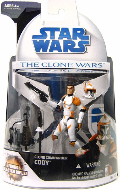 Star Wars The Clone Wars Clone Wars 2008 Clone Commander Cody Action Figure #10