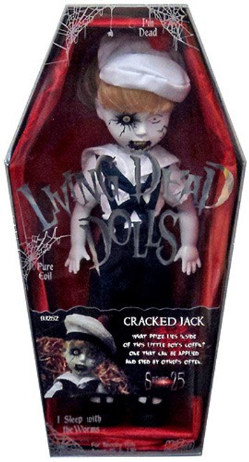 Living Dead Dolls Series 25 Cracked Jack Doll