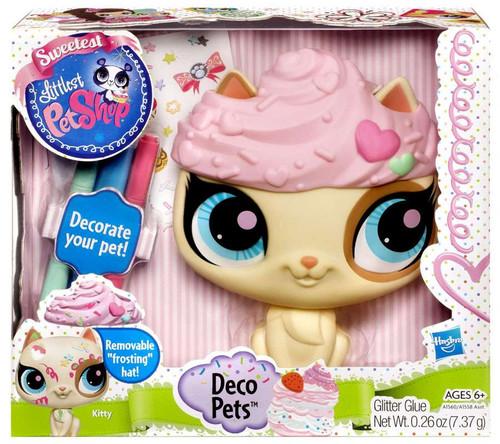 Littlest Pet Shop Sweetest Deco Pets Kitty Figure