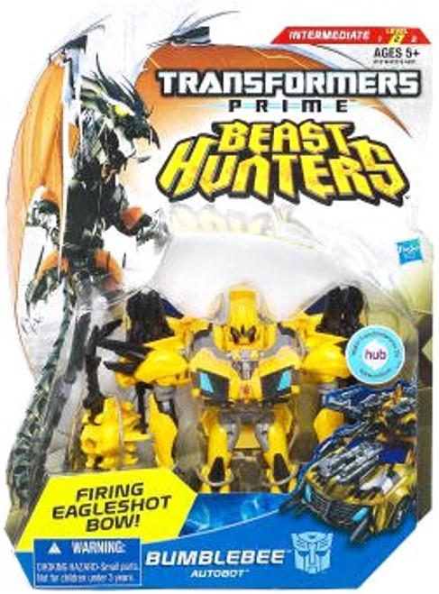 Transformers Prime Beast Hunters Bumblebee Deluxe Action Figure