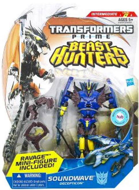 Transformers Prime Beast Hunters Soundwave Deluxe Action Figure