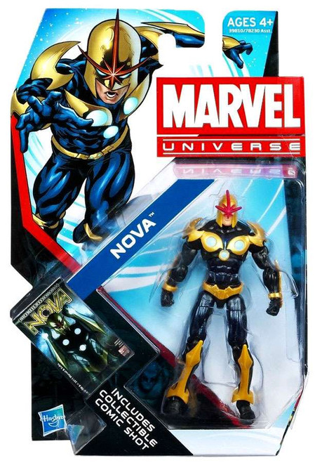 Marvel Universe Series 21 Nova Action Figure #19