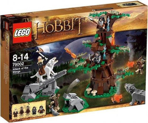 LEGO The Hobbit Attack of the Wargs Set #79002