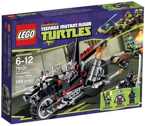 LEGO Teenage Mutant Ninja Turtles Shredder's Dragon Bike Set #79101