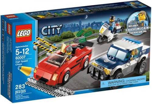 LEGO City High Speed Chase Set #60007