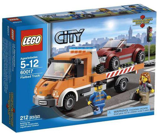 LEGO City Flatbed Truck Set #60017