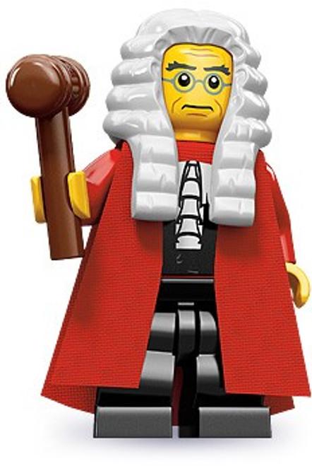 LEGO Minifigures Series 9 Judge Minifigure [Loose]