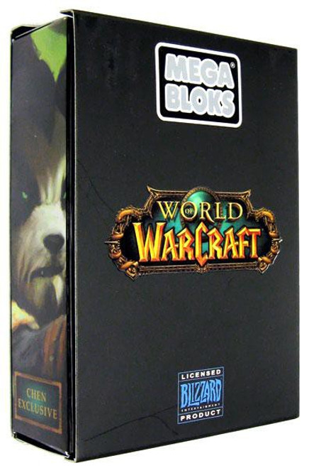 Mega Bloks World of Warcraft Jade Chen Stormstout Figure Exclusive Set