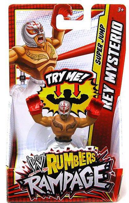 WWE Wrestling Rumblers Rampage Rey Mysterio Mini Figure