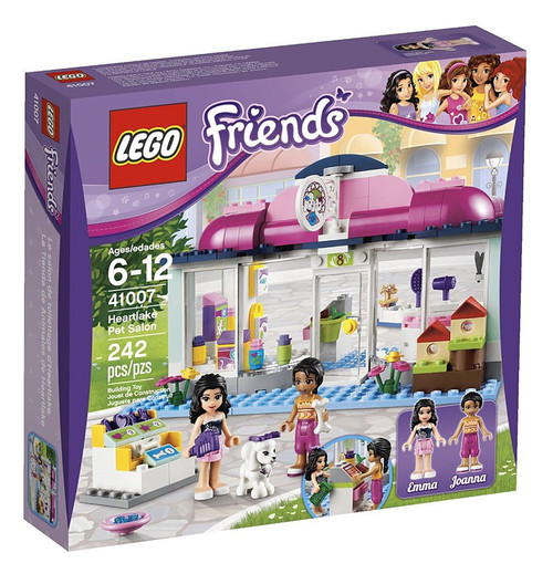 LEGO Friends Heartlake Pet Salon Set #41007