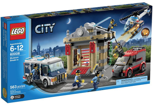 LEGO City Museum Break-In Set #60008