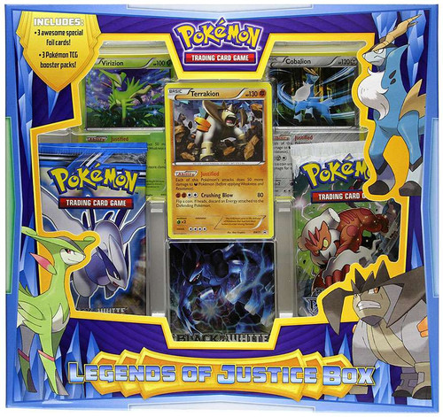 Pokemon Black & White Legends of Justice Box