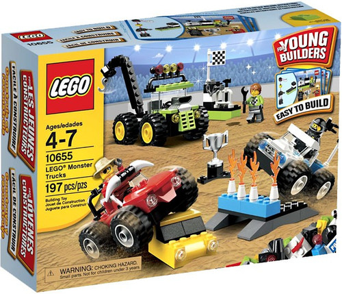 LEGO Young Builders Monster Trucks Set #10655