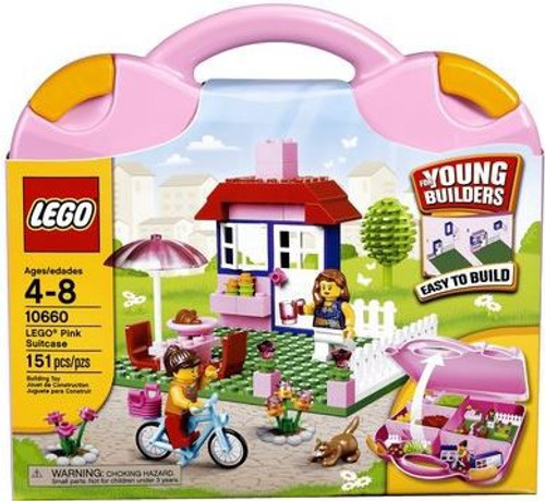 LEGO Young Builders Pink Suitcase Set #10660