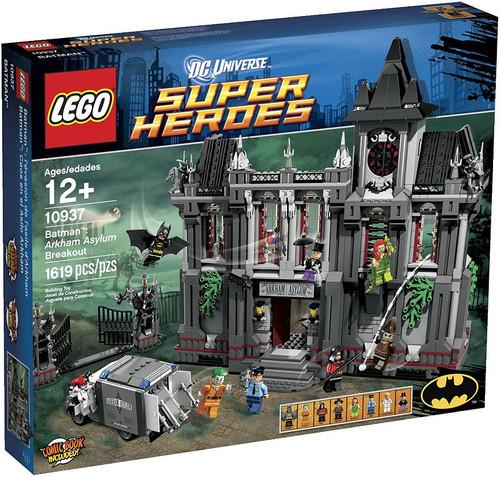 LEGO DC Universe Super Heroes Batman: Arkham Asylum Breakout Set #10937