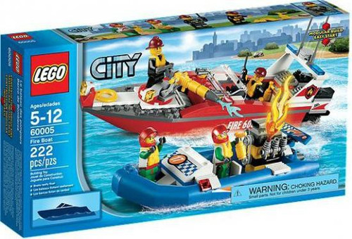 LEGO City Fire Boat Set #60005