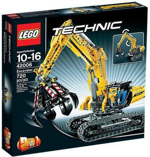 LEGO Technic Excavator Set #42006
