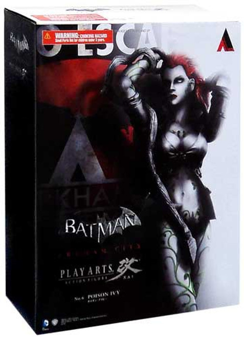 Batman Arkham City Play Arts Kai Series 3 Poison Ivy Action Figure