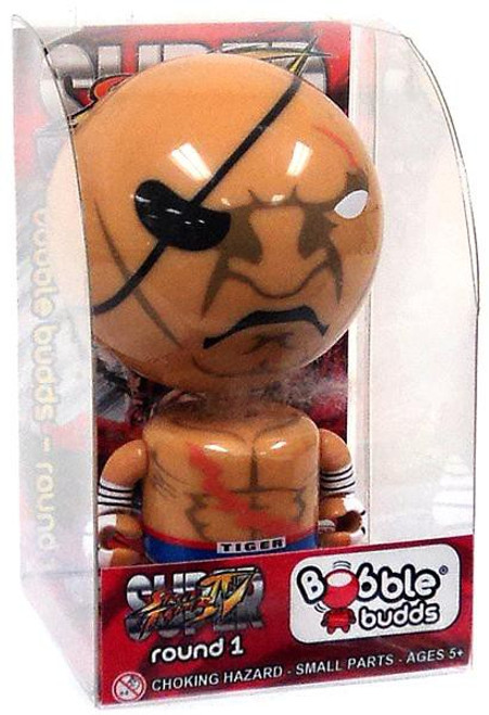 Super Street Fighter IV Bobble Budds Sagat 3.75-Inch Bobble Head