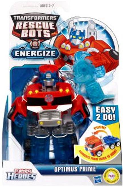 Transformers Rescue Bots Playskool Heroes Optimus Prime Action Figure
