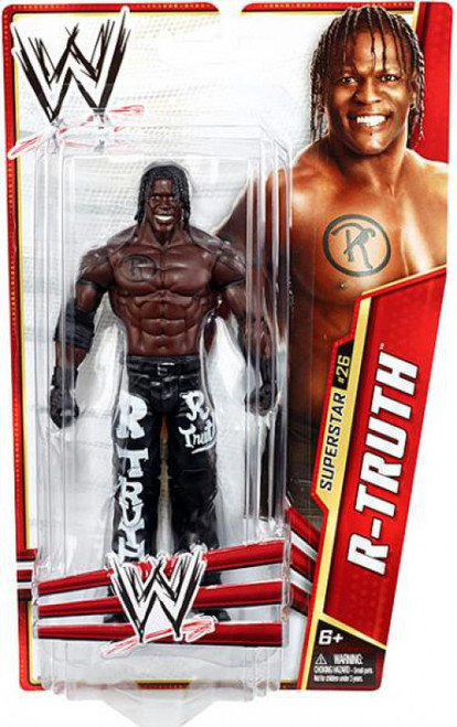 WWE Wrestling Series 28 R-Truth Action Figure #26