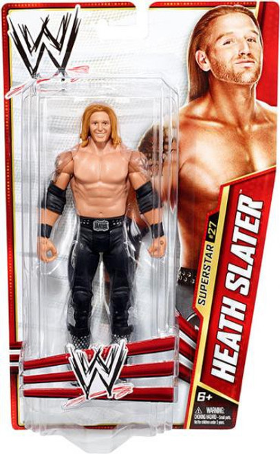 WWE Wrestling Series 28 Heath Slater Action Figure #27
