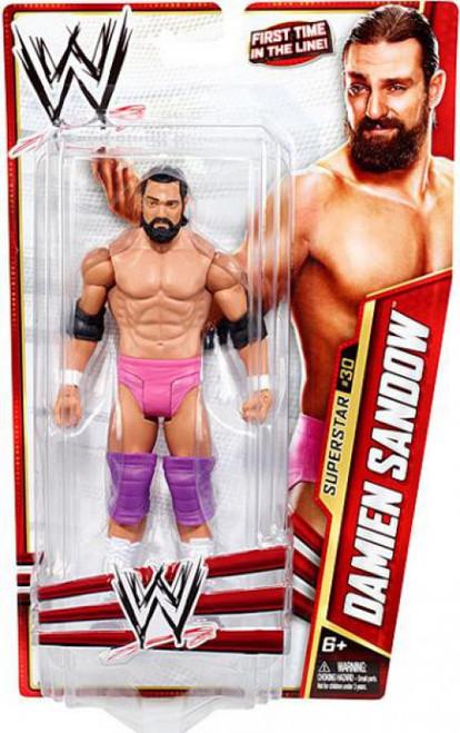 WWE Wrestling Series 28 Damien Sandow Action Figure #30