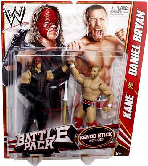WWE Wrestling Series 21 Kane vs. Daniel Bryan Action Figure 2-Pack [Kendo Stick]