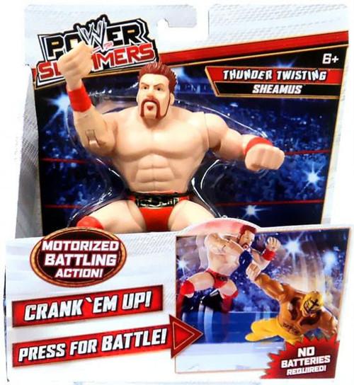 WWE Wrestling Power Slammers Thunder Twisting Sheamus Action Figure