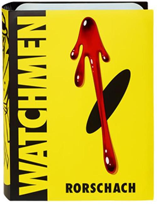 DC Watchmen Club Black Freighter Rorschach Exclusive Action Figure