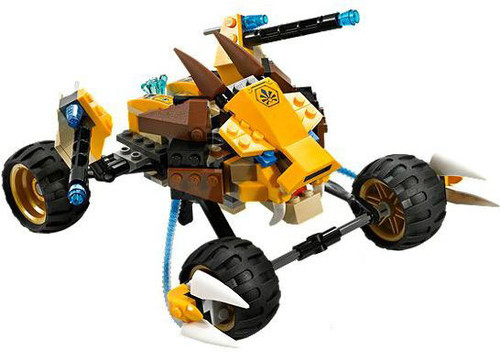 LEGO Legends of Chima Lennox's Lion Buggy Loose Vehicle #70002 [Loose]