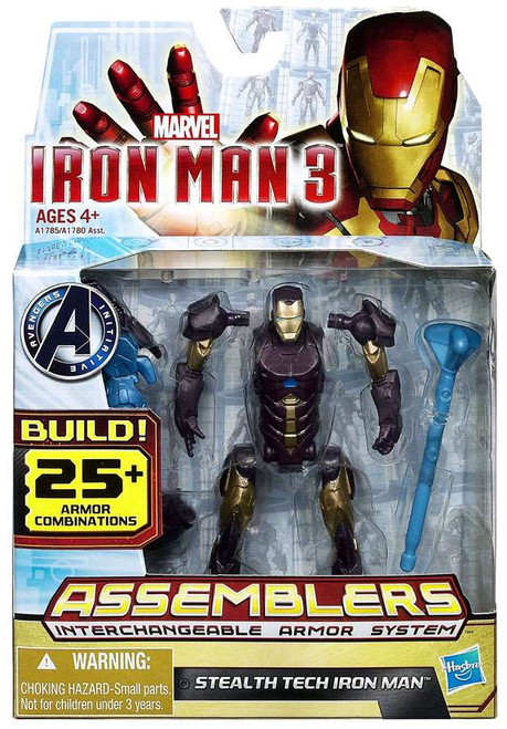 Iron Man 3 Assemblers Stealth Tech Iron Man Action Figure A1785