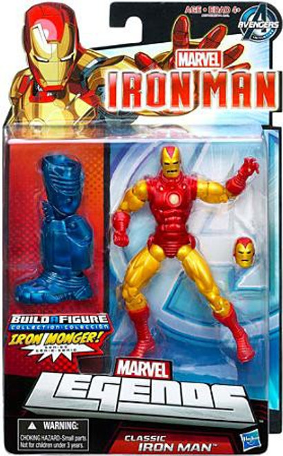 Marvel Avengers Classic Iron Man Action Figure