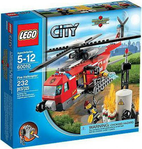 LEGO City Fire Helicopter Exclusive Set #60010