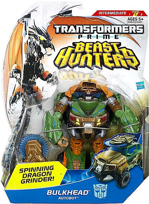 Transformers Prime Beast Hunters Bulkhead Deluxe Action Figure