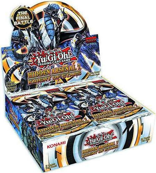 YuGiOh Hidden Arsenal 7: Knight of Stars Booster Box [24 Packs] [Sealed]