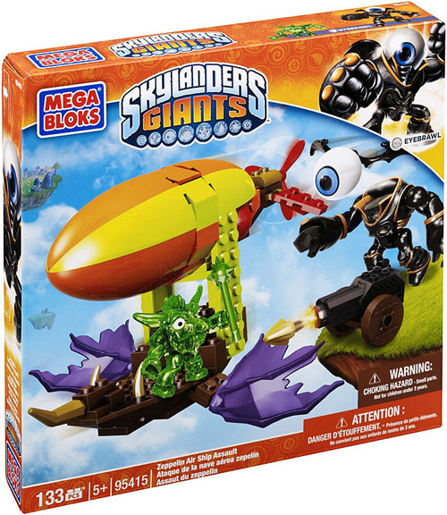Mega Bloks Skylanders Giants Zepplin Air Ship Assault Set #95415