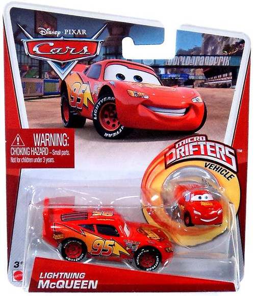 Disney Cars Micro Drifters Lightning McQueen Diecast Car [With Micro Drifter]