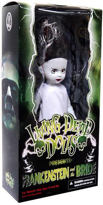 Living Dead Dolls Frakenstein and the Bride The Bride 10-Inch Doll