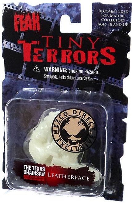 A Nightmare on Elm Street Cinema of Fear Tiny Terrors Series 1 Leatherface Exclusive Mini Figure [Glow-in-the-Dark]